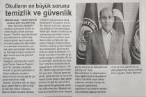 Gazete Manşetleri-Okullarda Belediye Modeli